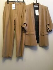 Tailleur Veste Blazer Robe Zara Moutarde Sold Out Pantalon