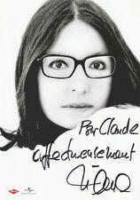Autographe Original: NANA MOUSKOURI