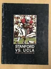 UCLA @ UCLA COLLEGE FOOTBALL PROGRAMS  1971 EX