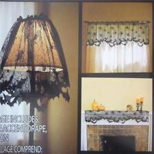 Decor Halloween Tablecloth Rectangle Black Tablecloths Home 1 Pcs Spider Web LE