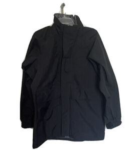 Navy Cold Weather Parka Small Short Black Jacket