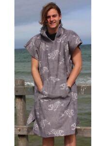 Poncho changing robe - back beach co Fish Bone