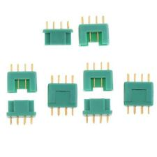 5 Pairs MPX Multiplex Connectors 6 Pin Plug for RC Battery Male and Female