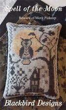 Reward of Merit Pinkeep Spell of Moon Blackbird Designs Cross Stitch Pattern