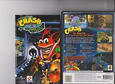 Crash BANDICOOT IRA DI CORTEX PLAYSTATION 2 PS2 PS 2