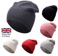 Quality Knitted Beanie Hat Mens Women Unisex Winter Warm Sk Cap