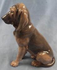 bluthund Porzellan bloodhound hund figur porzellanfigur Royal copenhagen