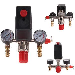 Pressostat Compresseur d'air Vanne Régulation Pression Contrôle Jauge
