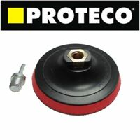 Rubber Backing Pad 5 Inch 125mm Hook & Loop for Angle Grinder Sander Discs M14x2