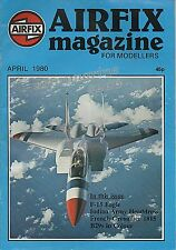 AIRFIX Magazine for Modellers April 1980 - FLAK 2cm Gun Story + Scale Drawings