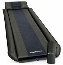 Sleeping Pad w/Armrest & Pillow - Rollover Protection - Army Green/ X-large