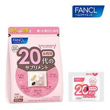 FANCL Japan supplement for over 20s female women 30packs 10-30 days