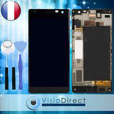 Ecran complet pour Nokia Lumia 730 735 noir vitre tactile + ecran LCD + outils