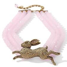 Heidi Daus Honey Bunny Crystal Accented Necklace SWAROVSKI RET $329 GRAB IT WOW!