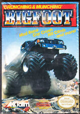 BIGFOOT - Factory Sealed - NES Nintendo - Monster Truck Racing - Good Condition