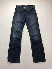 LEVI'S 506 Straight Jeans - W29 L34 - Navy - Good Condition - Men's