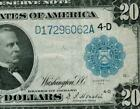 $20 1914 Federal Reserve Note DAILY CURRENCY AUCTIONS COMBINED SHIPPING