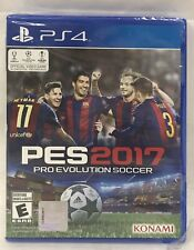 PES 2017 Pro Evolution Soccer PlayStation 4 PS4 Brand New Factory Sealed In Case