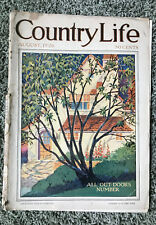 VINTAGE COUNTRY LIFE MAGAZINE AUGUST 1926