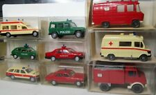 Wiking 1:87 use vehicles OVP to Select-Fire Brigade-technical rescuers-Police-DRK