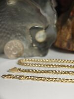 GENUINE / SOLID 18CT YELLOW GOLD - UNISEX MESH LINK NECKLACE / HEAVY !