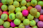 50 ASSORTED COLOURED GOLF BALLS.....GREAT VALUE