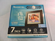 """Pandigital PAN7000DW 7"""" Digital Picture Frame - New in the Box"""