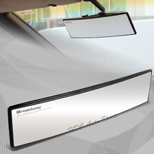 Broadway 300Mm Wide Convex Interior Clip On Rear View Clear Mirror Universal 1 (Fits: Honda Insight)