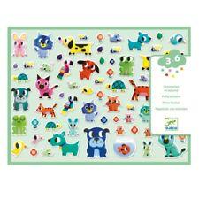 Djeco Sticker Set Puffy 3D Sticker 134 Stück Meine kleinen Freunde ab 3 Jahren