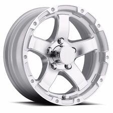 "NEW 14"" Aluminum T08 Silver Trailer Wheel/Rim 5 on 4.5 CustomTrailerWheels.com"