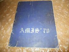 ORIGINAL 1970 INTERNATIONAL SCHOOL YEARBOOK/ANNUAL/JOURNAL/HERTAL-LIEGE, BELGIUM