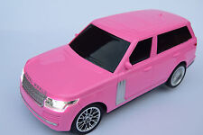 RANGE ROVER RADIO REMOTE CONTROL CAR GIRLS SPORTS CAR 1/16 LIGHTS LED LIGHTS