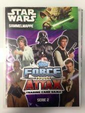 Topps Star Wars Force Attax Serie2 - Sammelmappe .