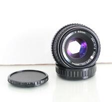 SMC Pentax-M 1:2 50mm Lens ASAHI OPT. Japan