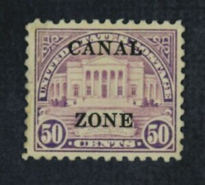 CKStamps: US Stamps Collection Canal Zone Scott#94 Mint H OG Lightly Crease