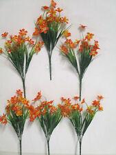 Dekoration 6 x künstliche Butterblume Blumen Kunstblumen Floristik Deko wie echt