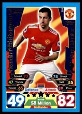 Match Attax 2017/18 Henrik Mkhitaryan Manchester United No. 209