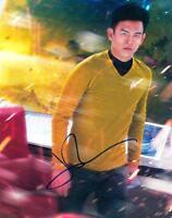 JOHN CHO SIGNED 8X10 PHOTO AUTHENTIC AUTOGRAPH STAR TREK COA