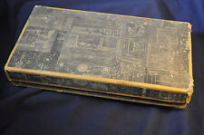 Ca 1797 Hand Made Box with Engineering Drawings Canaan & Champlain New York