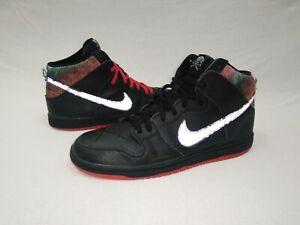 Nike Dunk High Premium SB - SIZE 10 US - 313171-028 Gasparilla SPOT Tampa Red QS