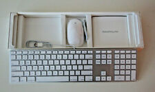 Magic Keyboard with Numeric Keypad - US English - Silver +Mouse      Brand New!