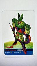 Carte LAMINCARDS Dragon ball Z Cell 88