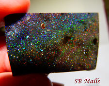 65 Cts. Honduras Black Matrix Honduran Opal Rub Rough Lot 1686