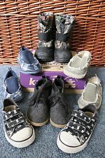 5 Pair of Baby Boy's Size 7 Casual Shoes - Kamik, The Children's PLACE, Old Navy