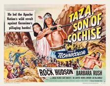 Rock Hudson, Barbara Rush - Taza Son of Cochise (1954) - 11 x 14 LC Reprint