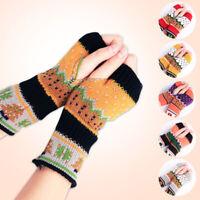 Women's Half Finger/Fingerless Gloves Knitted Gloves Winter Casual Driving Warm
