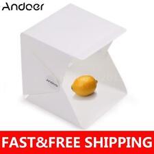 """48cm 9"""" LED Lighting Tent Softbox Portable Folding Light Box Cube Photo Studio"""