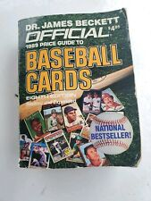 Dr. James Beckett Official 1989 Price Guide To Baseball Cards 8th Edition