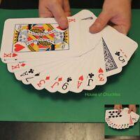 Jumbo Brainwave Deck Brain Wave Bicycle Big Box Magic Card Trick