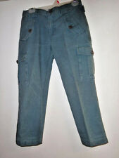 Marc Jacobs blue cargo style pants   Size 6  Button accents